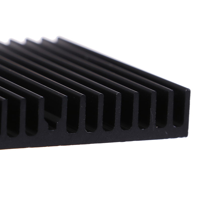1gb 60*60*10mm Melna Alumīnija Radiators, Mātesplates Čipa Heatsink